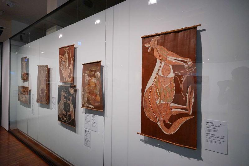 澳大利亞原住民樹皮畫特展即日起於臺博館展出