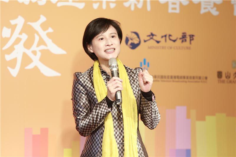 文化部長鄭麗君表示,將成立「影視投融資專業協力辦公室」,全力協助影視產業發展。