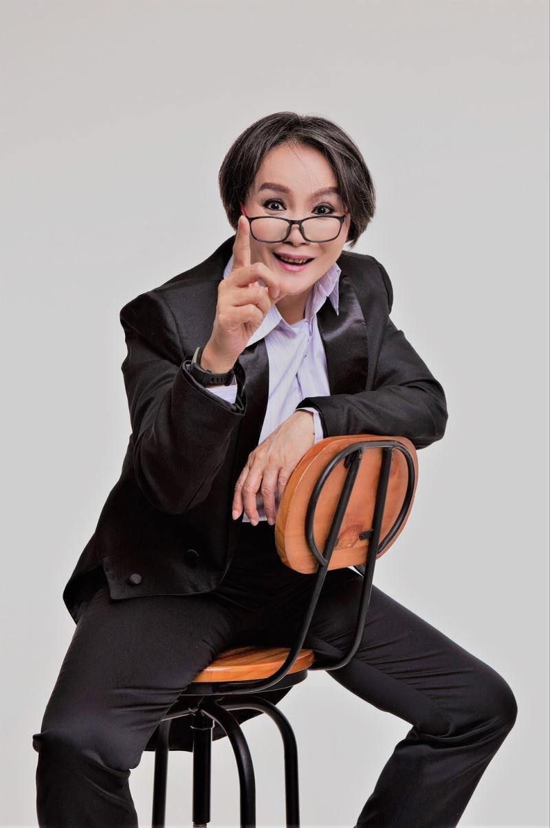 1015新聞照片:特邀趙美齡飾演劇作家一角忽老忽少情感細膩