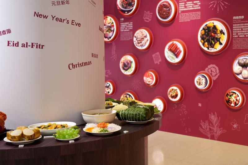 圖4臺博館永續年夜飯特展介紹臺灣多元族群的節慶飲食