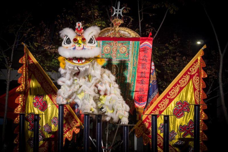 鬥陣趣.臺灣守護祭-慶和館獅陣演出照