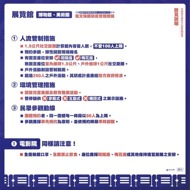 藝文場館防疫管理措施-2