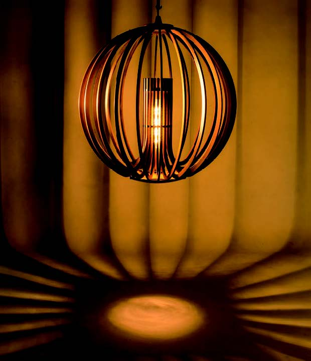 Dark & Bright- Carbonized Mengzong Bamboo Ball Light
