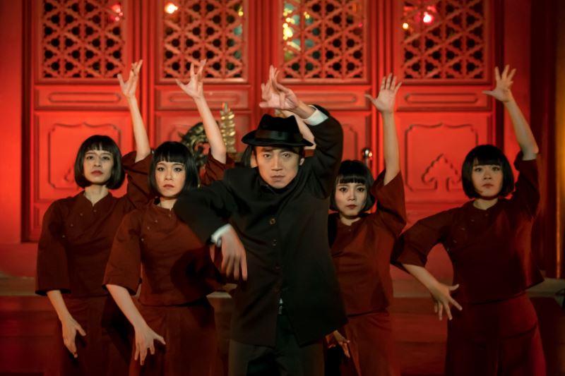 雞屎藤舞蹈劇場的舞蹈動作,融入了臺灣府城的元素。