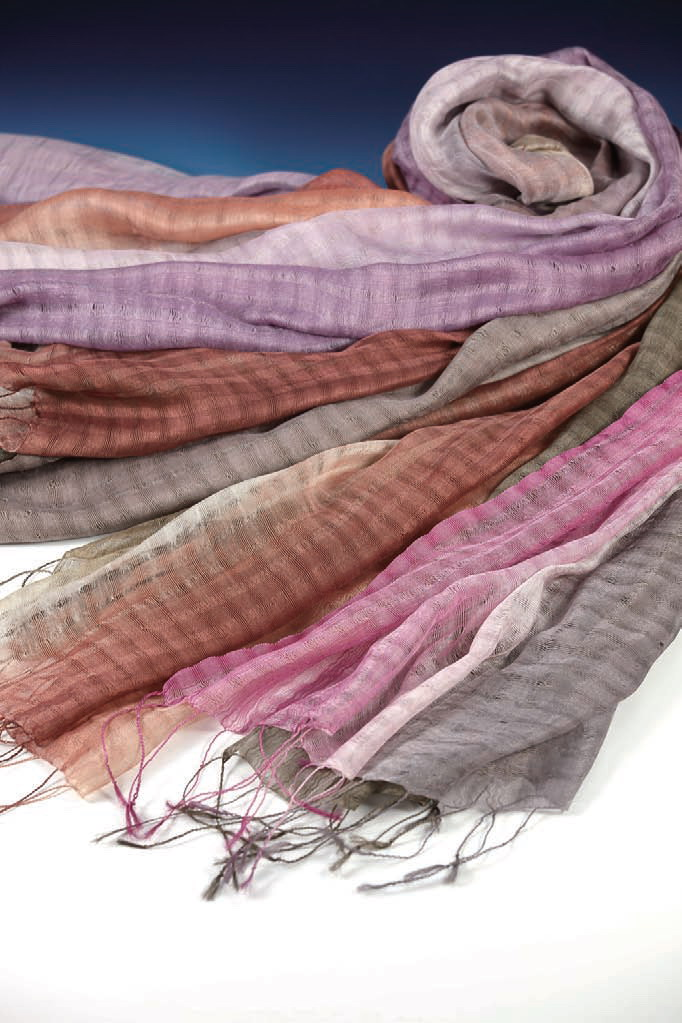 Elegant-Tennii Plaid Silk Scarves