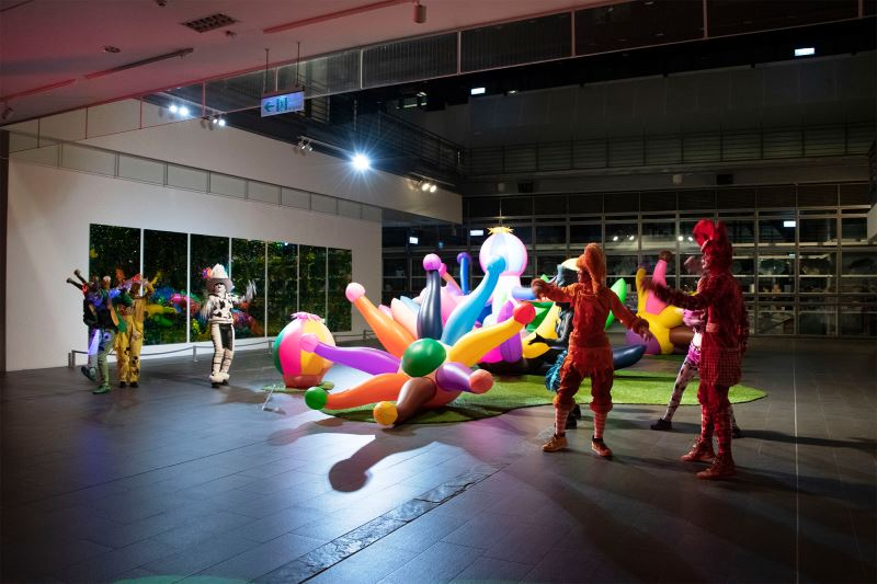 花之禮讚ー—四大美術館聯合大展」貴賓之夜之5