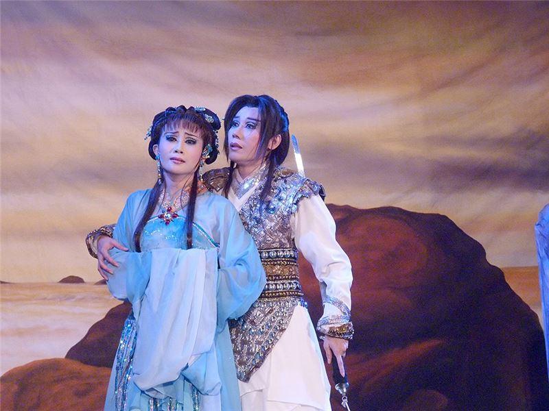 """A scene in """" Switch """" (2008).( Guo Chun-mei as Wei Chu-yun)"""