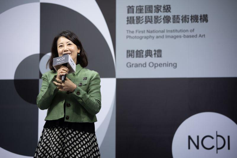立法委員吳思瑤於開館典禮上致詞