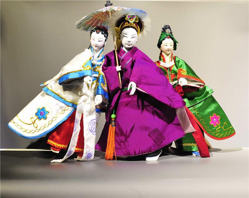 圖二    亦宛然掌中劇團傳承自人間國寶李天祿,作偶精細,令人驚艷。