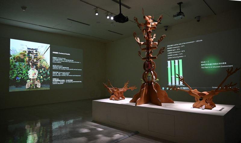 國美館「後數位人類紀」展場 (2)