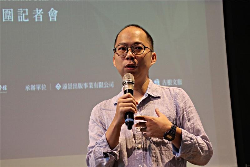 Author Huang Chun-kai.