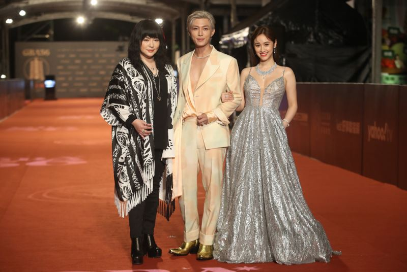 From left: Jesse Tang, Aaron Yan and Sandy Wu