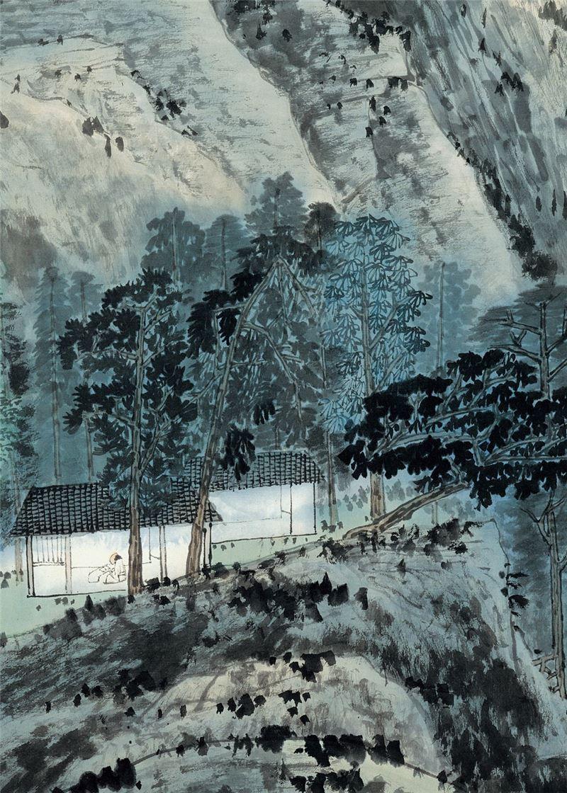 JIANG Jhao-shen〈Landscape〉Detail