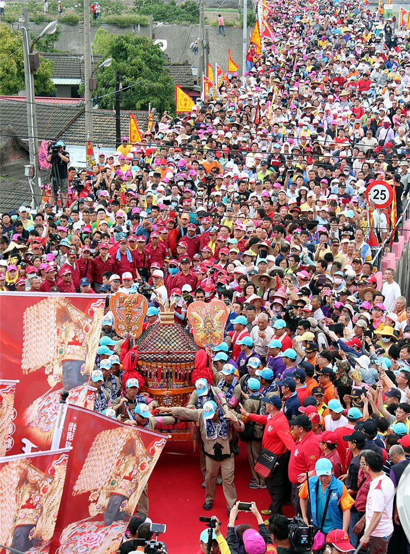 The 2015 Dajia Mazu Procession  (Source: Central News Agency)