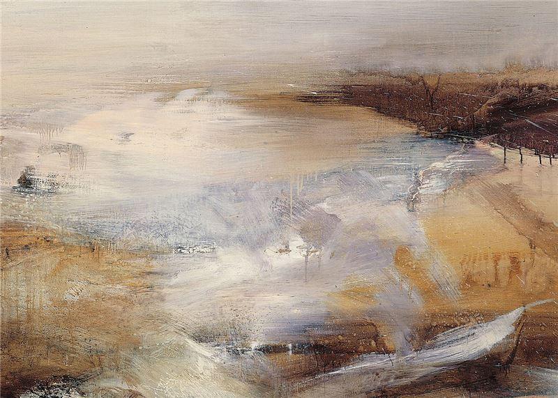 Zao Wou-ki〈Abstract Painting〉Detail