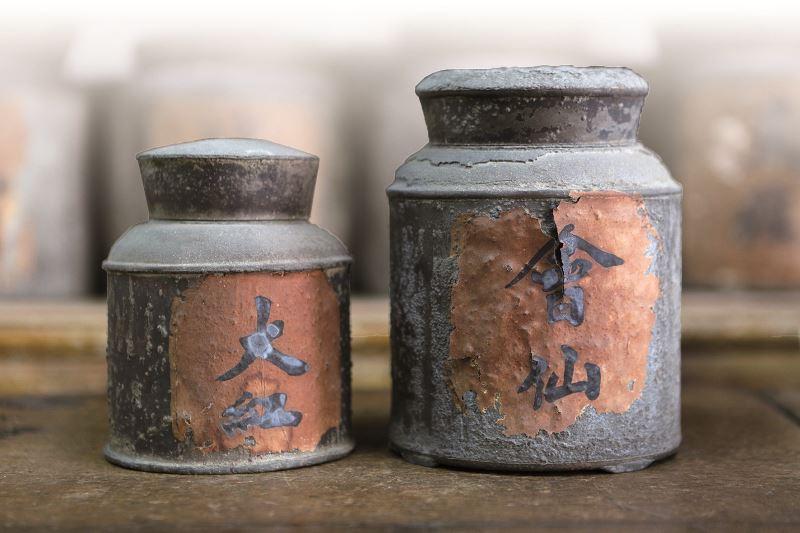舊時吸鴉片專用的茶罐。