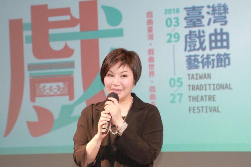 Taiwanese opera artist Tang Mei-yun.