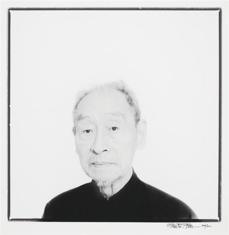 郎靜山 1985