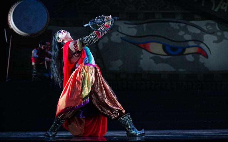《羅生門》舞作傳達了劉鳳學對唐樂舞與藏族舞蹈的深厚研究。
