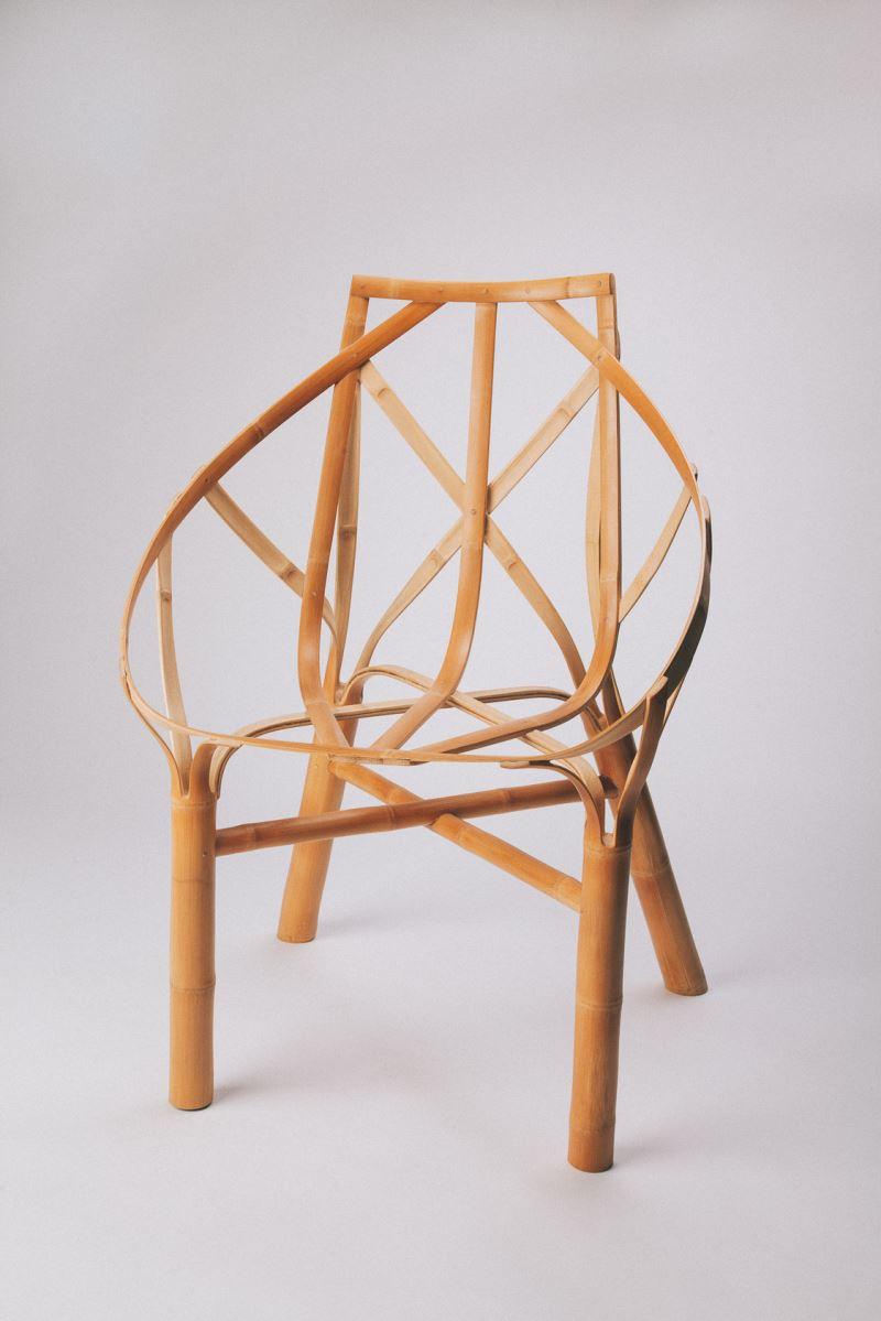 """法國設計師Samuel Misslen與臺灣工藝師林建成之""""Bamboo Chair 竹椅"""""""
