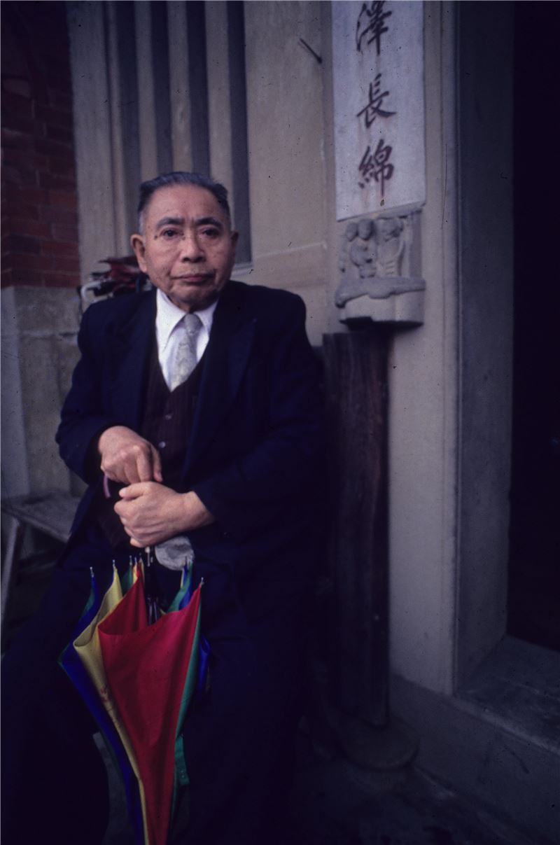 (圖4)林衡道教授(李乾朗攝影)