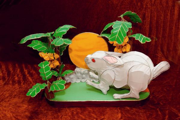 明月蕉下兔