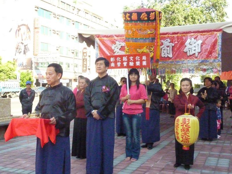 南管舉辦的形式非常傳統,具有濃厚的文化意味。