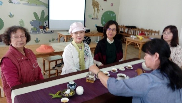 4月茶藝班教學-教學場景