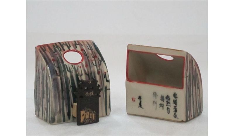 半月箱型器鳥食罐