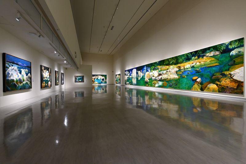 國美館「林惺嶽:大自然奇幻的光影」展場 (5)
