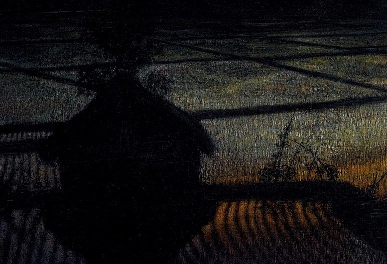HUANG Ming-Chang〈Sunset (Paddyfield Series)〉Detail