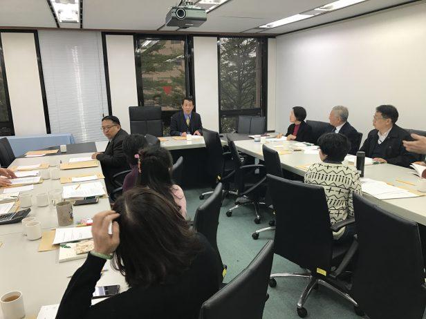 第12屆第2次董監事聯席會議─由楊董事長子葆主持