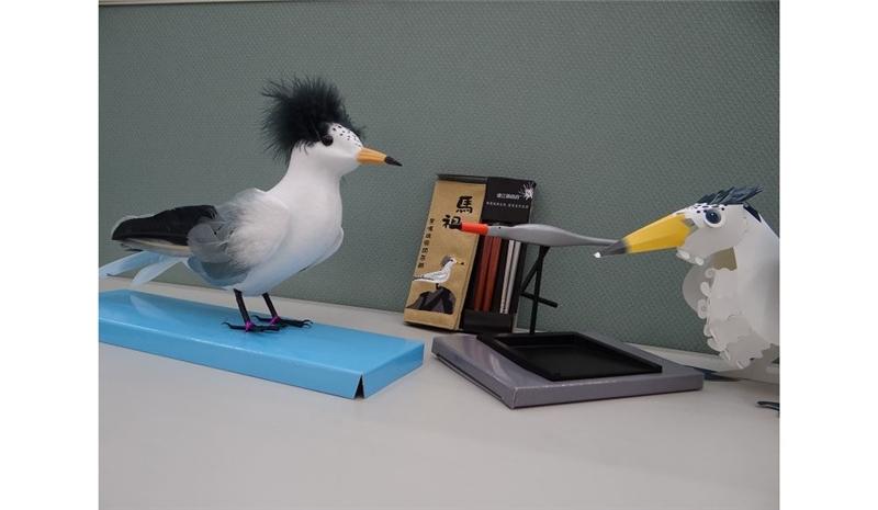 馬祖黑嘴端鳳頭燕鷗文創商品實用與創意兼備