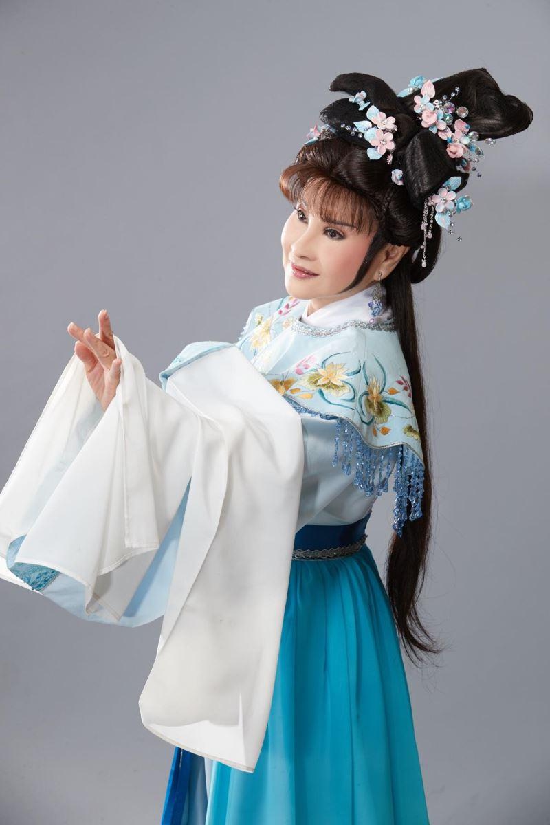 Taiwanese opera artist Hsu Hsiu-nien.