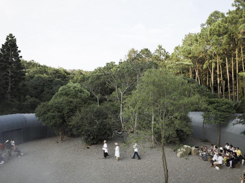 「勤美學—森大」基地空間(自然洋行提供)
