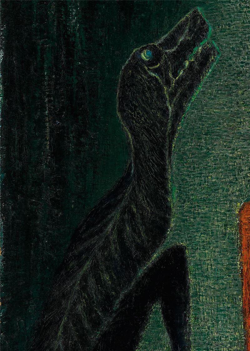 Lin Jia-yan〈Dialogue〉Detail