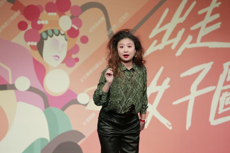 本事劇團黃宇琳詮釋現代《崔氏》的嗔與癡