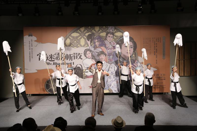 資深音樂劇演員葉文豪飾演白克導演。照片由國立傳統藝術中心提供