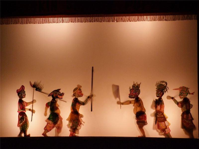 《西遊記-黑水河遇險》演出照片(2008)。