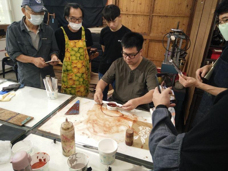 漆藝工藝教學