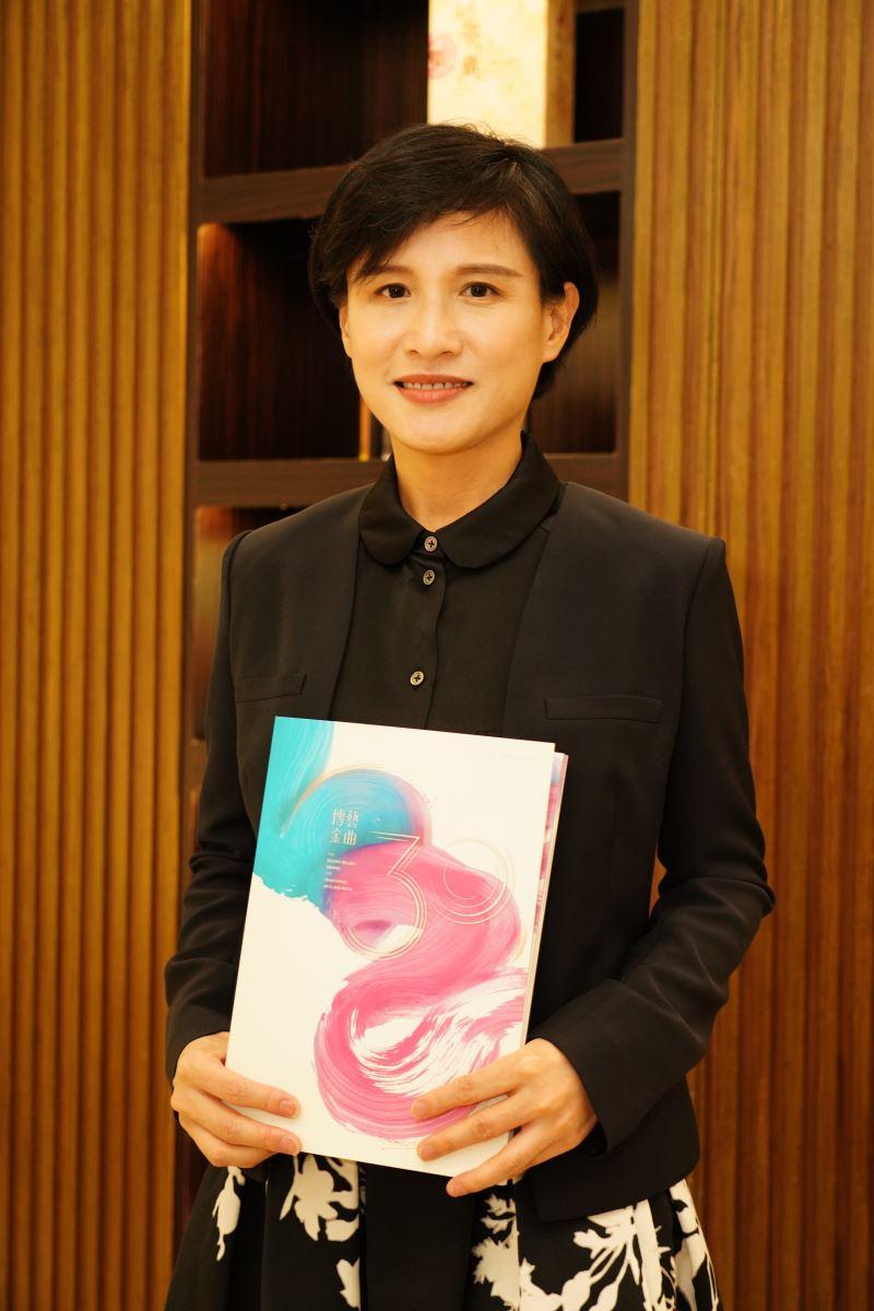 文化部長鄭麗君出席第30屆傳藝金曲獎頒獎典禮