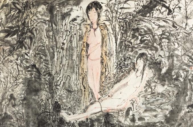 YU Peng〈Landscape of Lust〉Detail