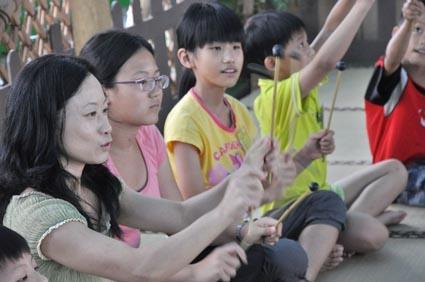 2014兒童工藝夏令營-音樂活動~肢體創造與即興