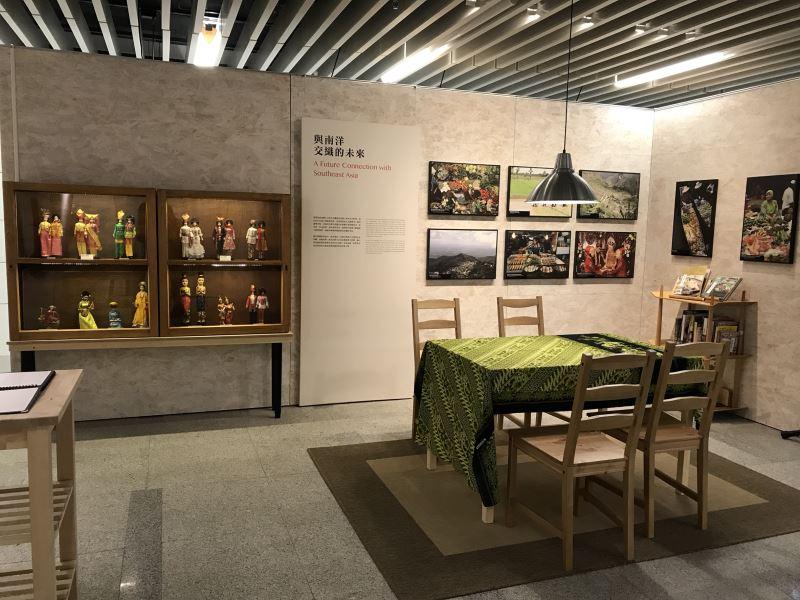 圖3南洋味巡迴展展出東南亞餐桌上的家鄉味