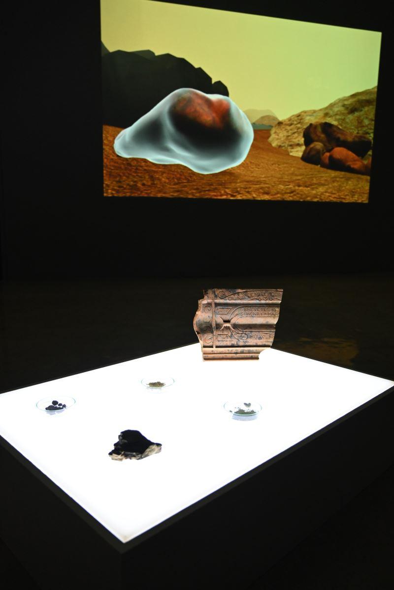 國美館「後數位人類紀」展場 (1)