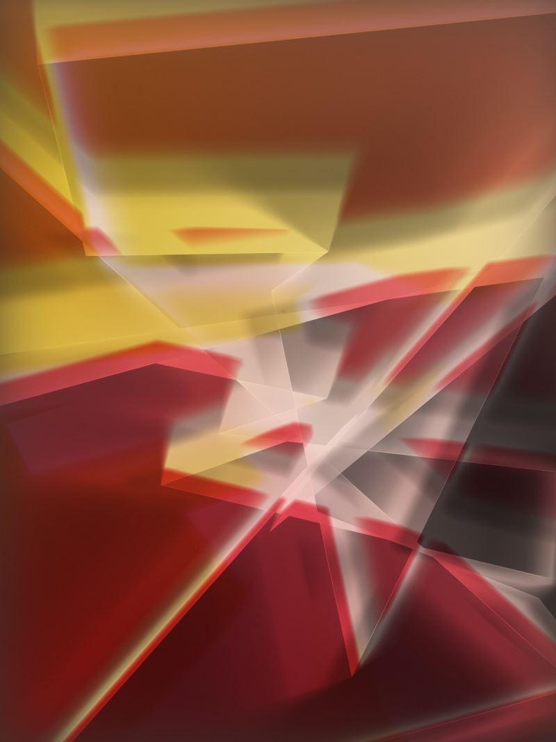 湯瑪斯魯夫(Thomas_Ruff)作品〈phg.02_I〉,2013年,c-print,240x185公分,藝術家提供。