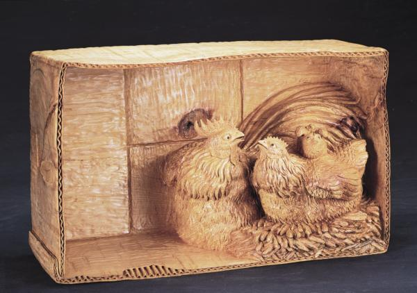 紙箱裡的愛