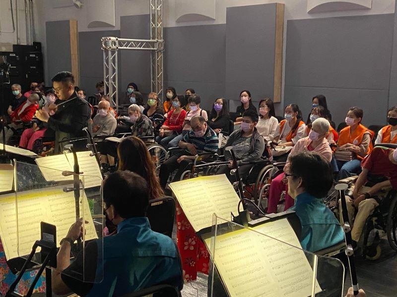 圖3:為打造友善、共融的演出環境,音樂會提供無障礙輪椅席。