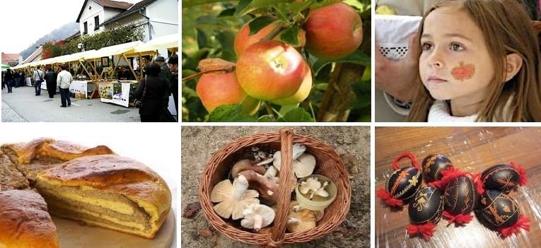 斯洛維尼亞-Kozjansko蘋果節-傳統慶祝活動象徵地區對自然、農業及文化環境的和諧共生