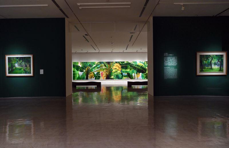國美館「林惺嶽:大自然奇幻的光影」展場 (2)